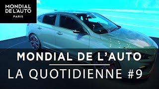Mondial de l'Auto - Le JT9 - le Audi SQ2,  i30 Hyundai, le retour de Peugeot à la moto
