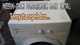 Mesin Cuci Panasonic Front Loading Matot Youtube