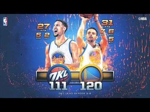 Warriors Stave Off Elimination and Take Game 5 in Oakland