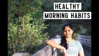 HEALTHY MORNING HABITS || Telugu vlogs