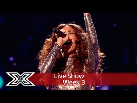 Nicole Scherzinger's diva mashup!  Live s Week 3  The X Factor UK 2016