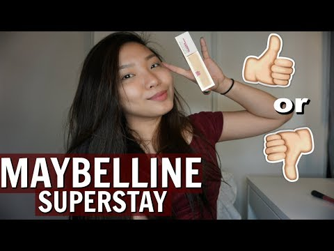 NEW MAYBELLINE SUPERSTAY FULL COVERAGE FOUNDATION | Wear test & Review (PHILIPPINES) | Nikka Peralta