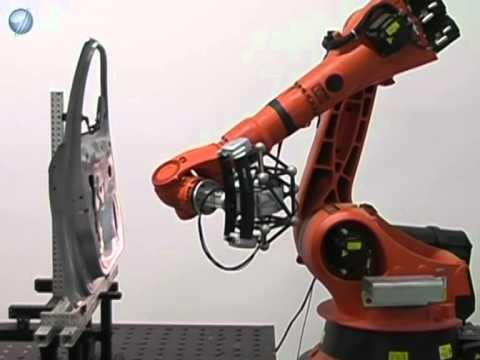 Robot Supported 3D Scanning with naviSCAN-3D White Light Scanner