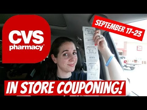CVS IN STORE COUPONING 9/17/17-9/23/17! MONEYMAKER COLGATE/CHEAP PANTENE/SPEED STICK & MORE!