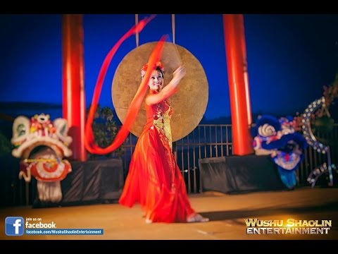 Chinese Ribbon Dance - Fan - Lion Dance - Dragon Dance