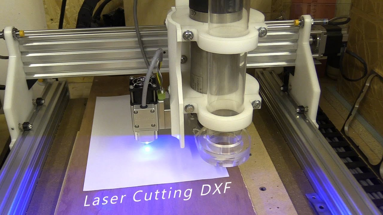 Laser Cutting DXF / Inkscape / GRBL / + Weird PWM behaviour