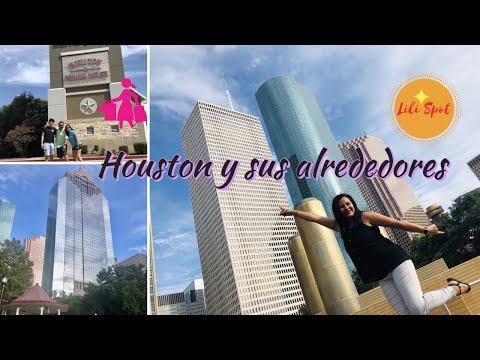 Recorriendo Lugares De Houston | Downtown | Buffalo Bayou Park | Spring| Compras | BBQ