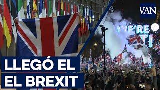 Así se ha vivido el Día B de Brexit en diferentes ciudades de Europa