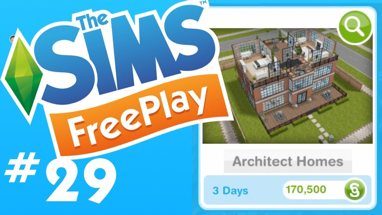 Verdieping Sims Freeplay The Sims Freeplay New Architecture Houses Let S Play Part 29