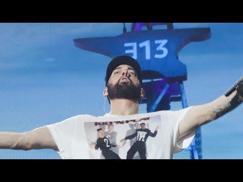 Eminem Full Concert At Abu Dhabi 2019.10.25 (front Row Center)