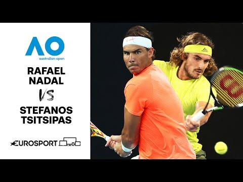 Rafael Nadal v Stefanos Tsitsipas | Australian Open 2021 - Highlights | Tennis | Eurosport