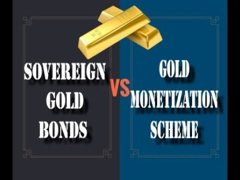 Sovereign gold bonds & Gold monetization scheme In hindi || Banking Tutorials