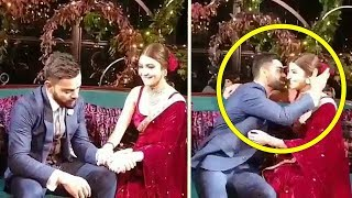 Emotional Virat Kohli CRIES In Front Of Anushka Sharma Night Before Wedding. Watch What Anushka Does