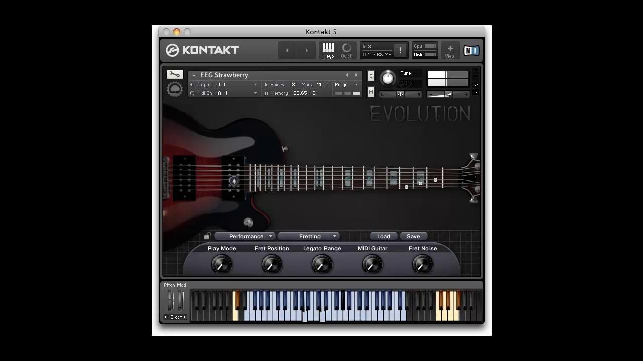 what can vst electric guitar part 1 strawberry evolution youtube. Black Bedroom Furniture Sets. Home Design Ideas