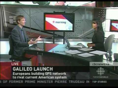 CBC NewsWorld: Launch of satellite for ESA's Galileo program