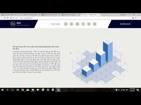 Global Risk Exchange ICO REVIEW  - một thị trường trao đổi risk toàn cầu dựa trên blockchain,