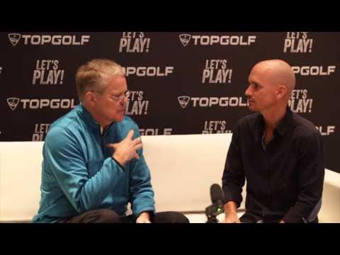 Golfway interviews Ken May, CEO at Topgolf