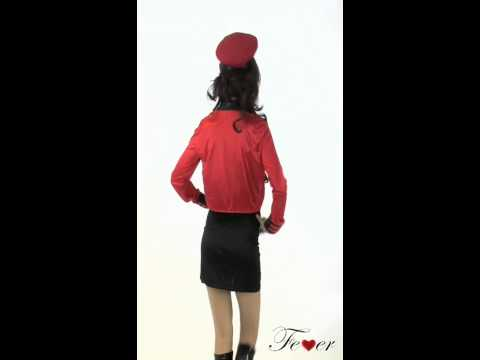 Fever Military Popstar Costume Video