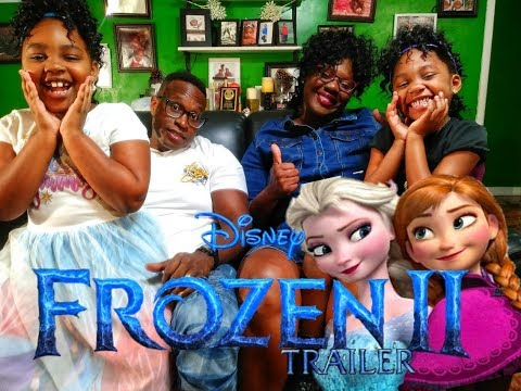 Frozen 2 Trailer REACTION