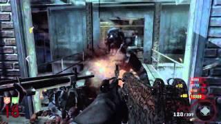GAM3VIDZ - Black Ops: ZOMBIES - Der Riese Quad Live Commentary (Part 2)