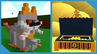 O simulador de caça ao tesouro real! -Roblox construir um barco para tesouros