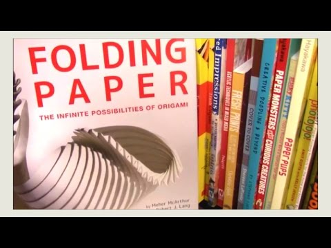 ★ VLOG ★ Tour of NYC Origami / Paper Shops - Barnes & Noble -  New York City - Origami Fun!