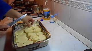 Картошка со сливочным маслом запеченная в духовке