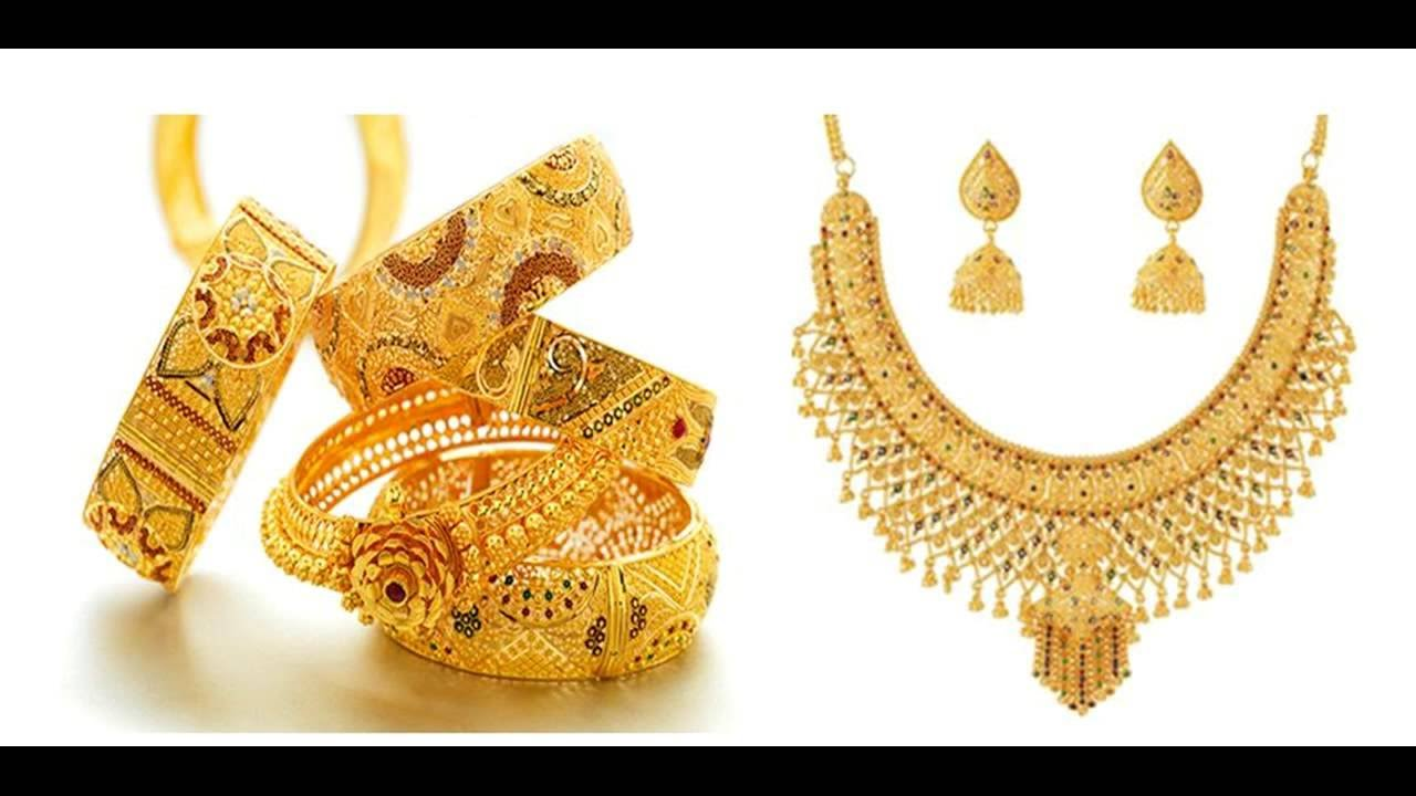 New Model Necklaces And Bangles - YouTube