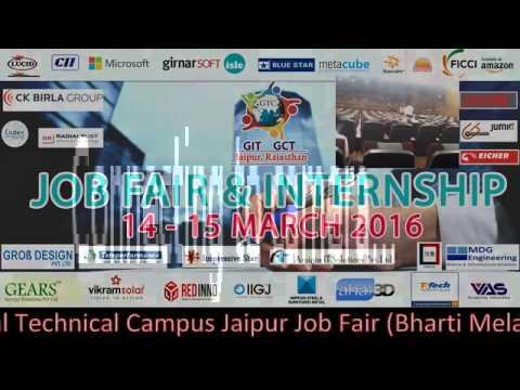 Job Fair & Internship 14-15th March 2016