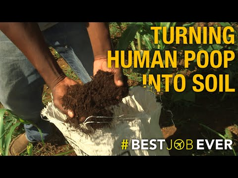 Transforming Human Poop Into Eco-Friendly Fertilizer: #bestjobever
