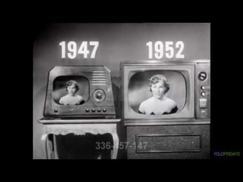 The short history of television (1930-1959)