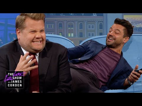 Shock Therapy Quiz w Dominic Cooper & James Corden