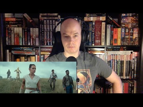 STAR WARS: EPISODE IX - THE RISE OF SKYWALKER Teaser Trailer Reaction