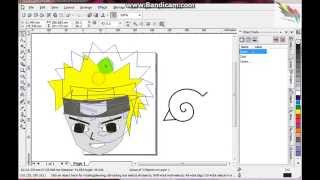 CorelDraw : Naruto Drawing / Menggambar Naruto part3/6 (Konoha Symbol)(Basicly coreldraw have same way how to work with coreldraw. Floral Desgin tutorials,Corel tutorials,Corel draw tutorials,Logo design in coreldraw tutorials ..., 2015-09-08T13:05:22.000Z)