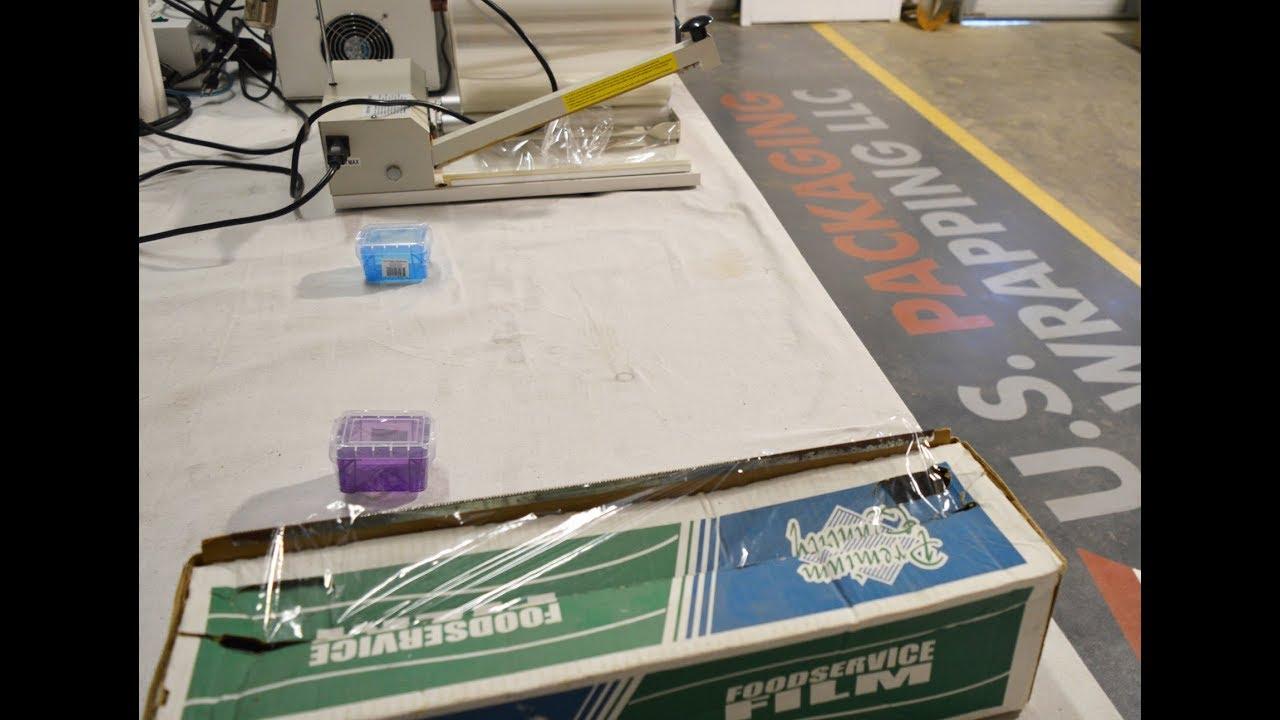 Shrink Wrap vs Plastic Wrap with a Heat Gun