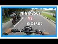 Klx150 Vs Ninja250fi, Klx Menang? | Motovlog Indonesia | Raw Gopro Video
