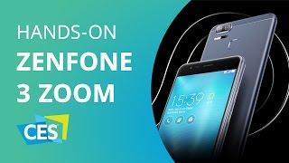Asus Zenfone 3 Zoom: câmera dupla e 5.000 mAh de bateria [CES 2017]