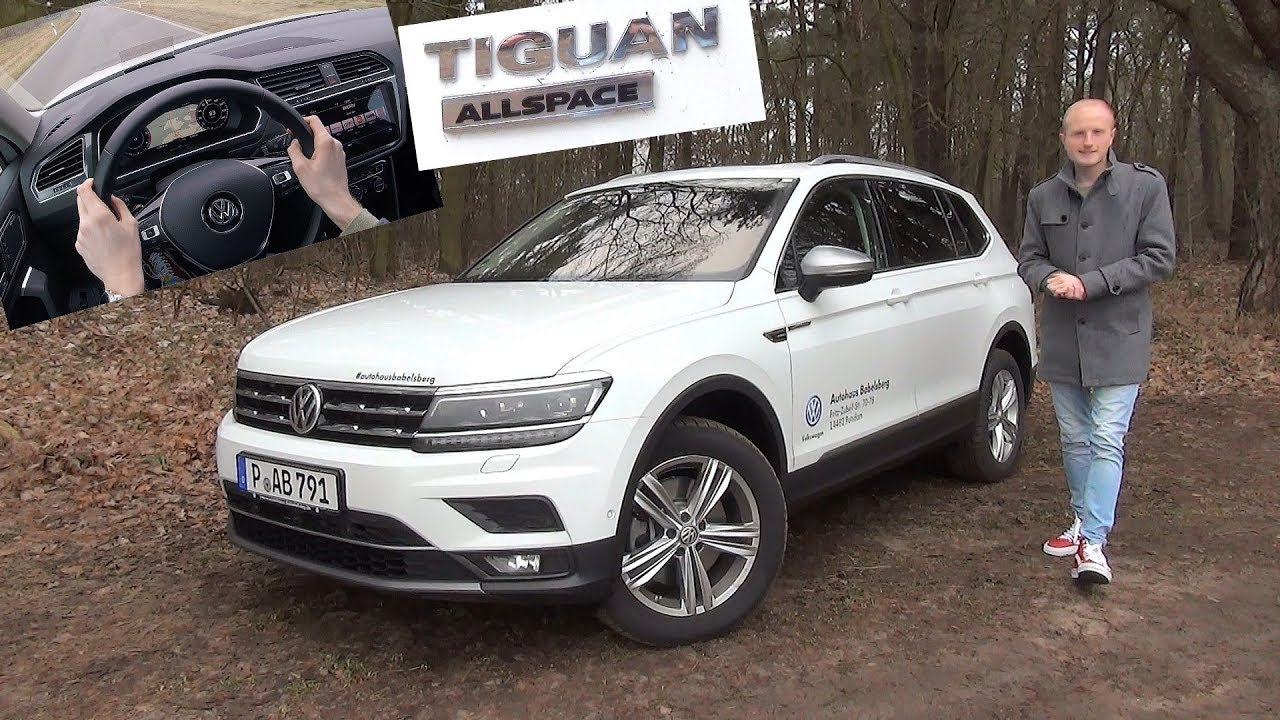 der neue vw tiguan allspace im test lohnt die. Black Bedroom Furniture Sets. Home Design Ideas