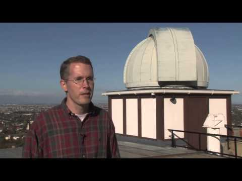 What does a radio telescope do?