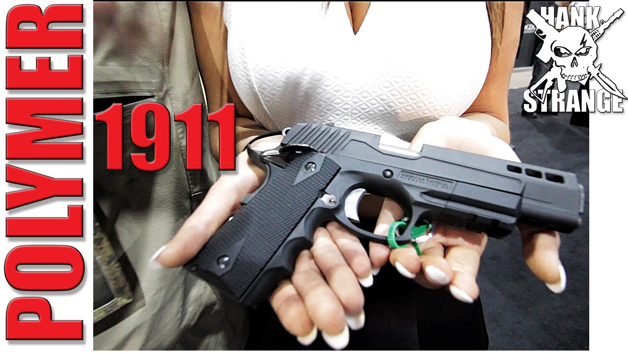 New Polymer 1911 ATI 2015 SHOT Show - YouTube