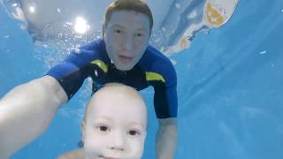 Грудничковое плавание в Иркутске | Капитошка #01