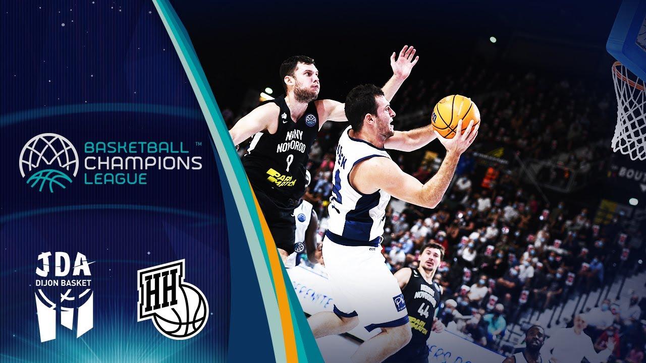 JDA Dijon v Nizhny Novgorod (Condensed Game) - Basketball Champions League 2019