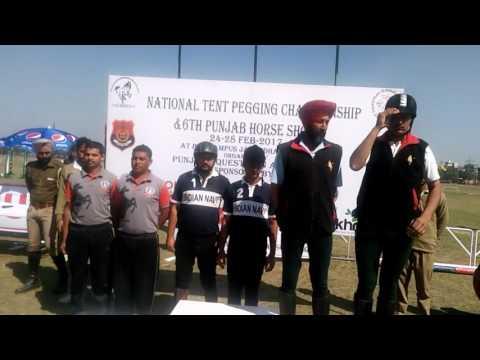 Tentpeggig medal winners Indian Navy