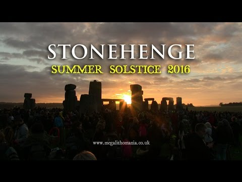 Stonehenge: 2016 Summer Solstice Celebrations and Druid Ceremony