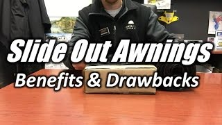 HaylettRV - Slide Out Awning Topper Benefits and Drawbacks with Josh the RV Nerd