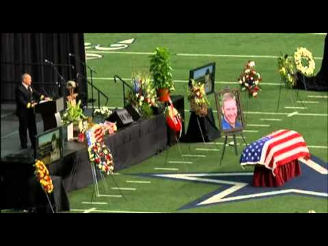 Chris Kyle's Memorial at Cowboys Stadium (FULL)