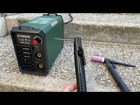 Inverter Welding Machine (MMA / SMAW) - PARKSIDE PISG 120 B3 | Unboxing and Test