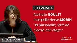 Afghanistan : Nathalie Goulet interpelle Hervé Morin
