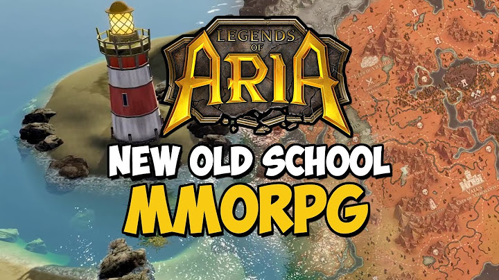 New Old School MMORPG - Legends Of Aria
