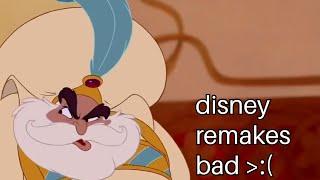 Disney's Aladdin, Remakes, And Derivative Filmmaking